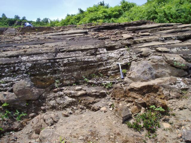 スコリア質凝灰岩 | 蔵王山